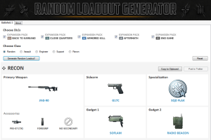 Random Loadout Generator